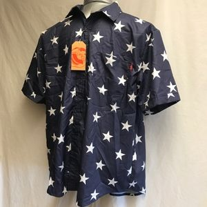 RSVLTS Fourth of July Button-down  - Size